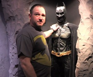 Guy Builds His Own Batcave