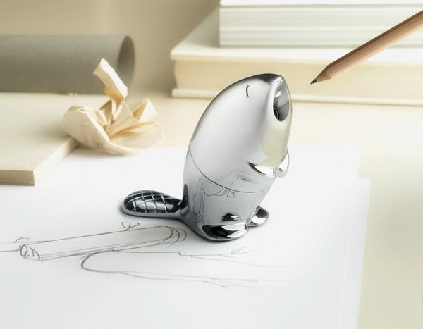 Beaver Pencil Sharpener Doesn't Give a Dam