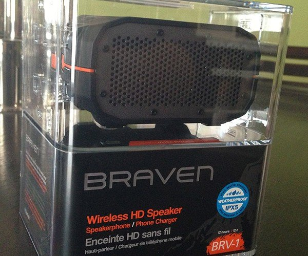Braven BRV-1 Bluetooth Speaker Review: Small, but Mighty