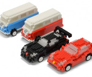 Mini Brick R/C Cars: LEGO My Ride!