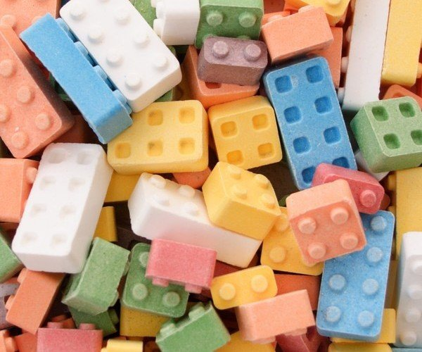 Candy Blocks are Like Edible LEGO Bricks