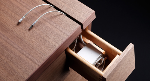 colors cartesia desk side drawer photo