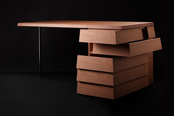 Colors Cartesia Desk: Open It Any Way Which You Can