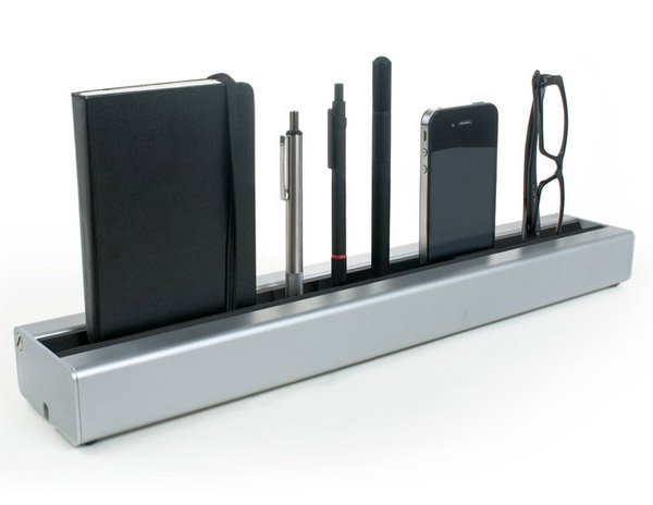 Desk Rail Keeps Your Desk in Line, Literally.
