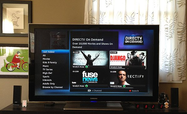 directv on demand