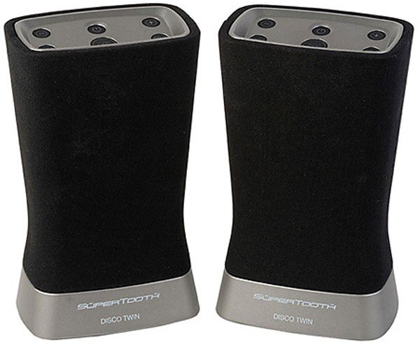 SuperTooth Disco Twin Stereo Bluetooth Speakers: Two Tooths are Better than One Tooth