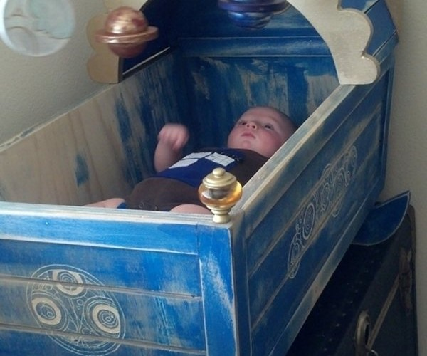 Doctor Who Crib: It's Wetter on the Inside