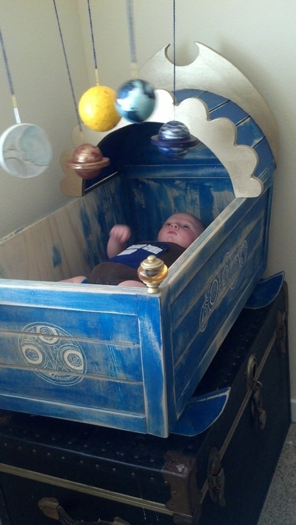 doctor who crib