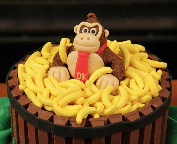 donkey kong cake 2