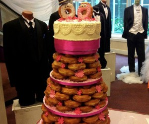 Dunkin Donut Wedding Cake: The Cheapest, Best-est Wedding Cake Ever