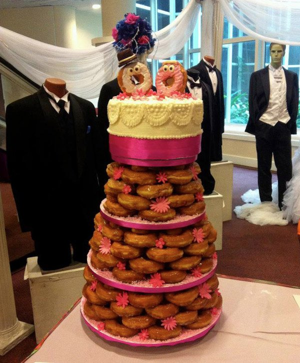 donut_wedding_cake
