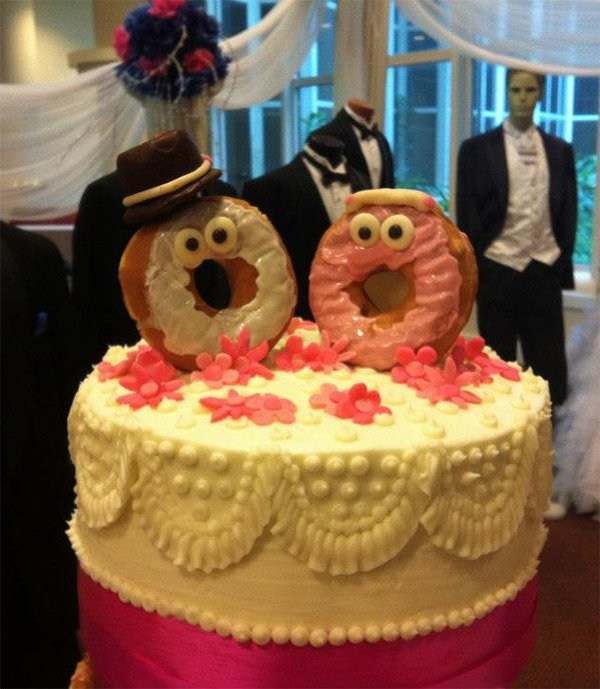 donut wedding cake 2