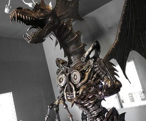 Giant Steampunk Dragon, Enough Said
