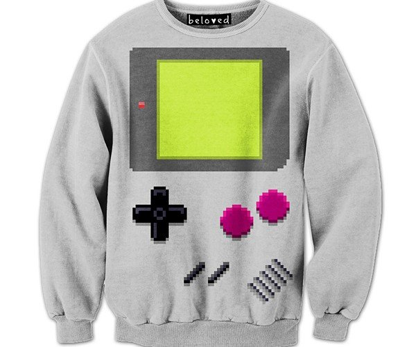 Drew Wise Pixel Art Sweaters: Old Games, New Threads