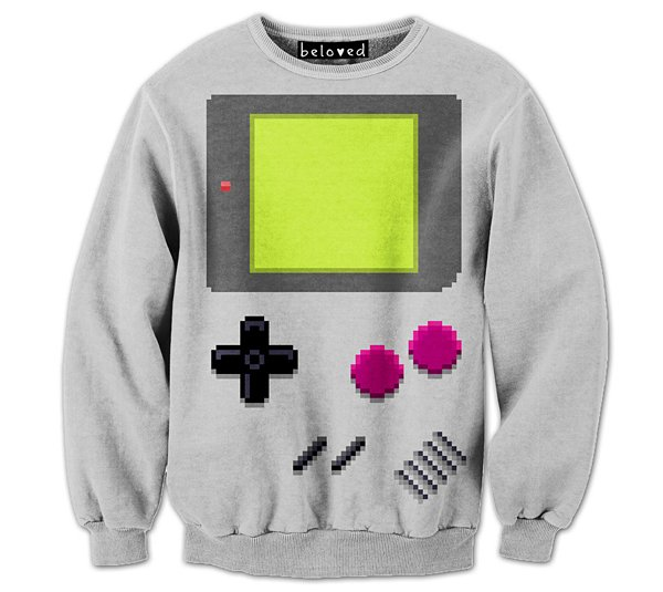 drew wise pixel artist sweaters