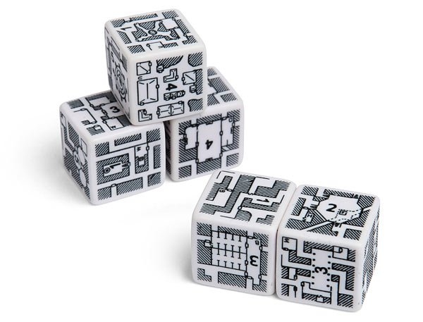 DungeonMorphs Map-Making Dice: Leave Your Path to Chance