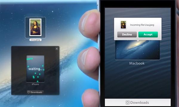 Filedrop Wireless File Sharing: Dropbox Lite