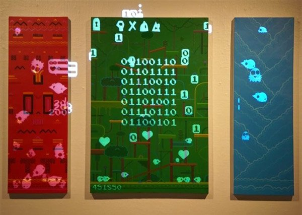 Playable Video Game Paintings Come to Life