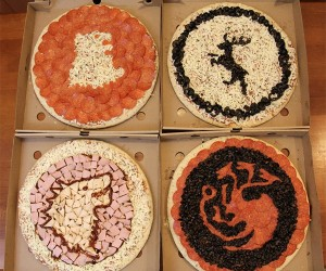 Game of Thrones Pizzas: Delivery is Coming