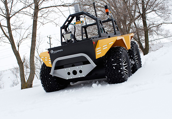 grizzly robot utility vehicle by clearpath robotics