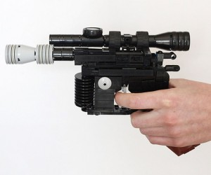 LEGO Shot First: Han Solo's DL-44 Blaster Pistol