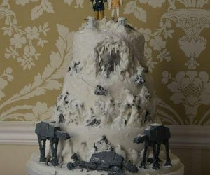 Battle Of Hoth Wedding Cake: Do You Take This Rebel?