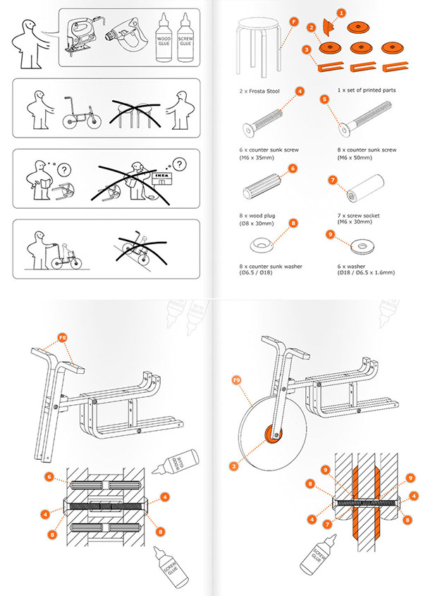 ikea bike instructions