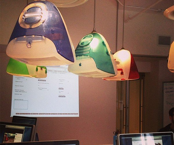Classic iMac Ceiling Lamps: Blink Different