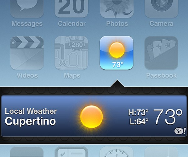 iOS 7 Fan Concept: Cleanliness Should Be Next to Usefulness