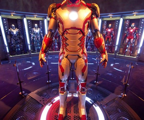 See Tony Stark's Hall of Armors and Be Iron Man at Disneyland Innoventions