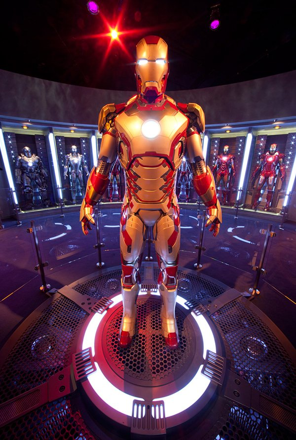 iron man tech disneyland innoventions
