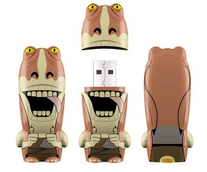 Jar Jar Flash Drive: Meesa Loosa Yousa Data