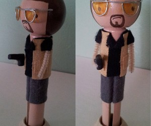 john goodman big lebowski clothespin doll 300x250