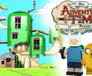 LEGO Adventure Time Tree Fort Concept: Architectural!