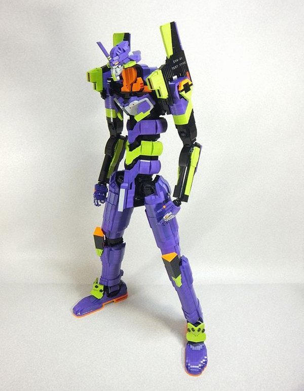 Lego Evangelion Unit 01 You Can Not Top This