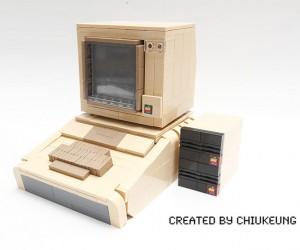 Original Apple II Plus Bricked (in LEGO)