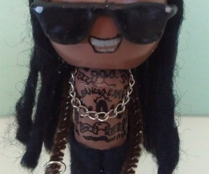 lil wayne clothespin doll 300x250