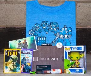 LootCrate Geeky Gift Box: Random Drops