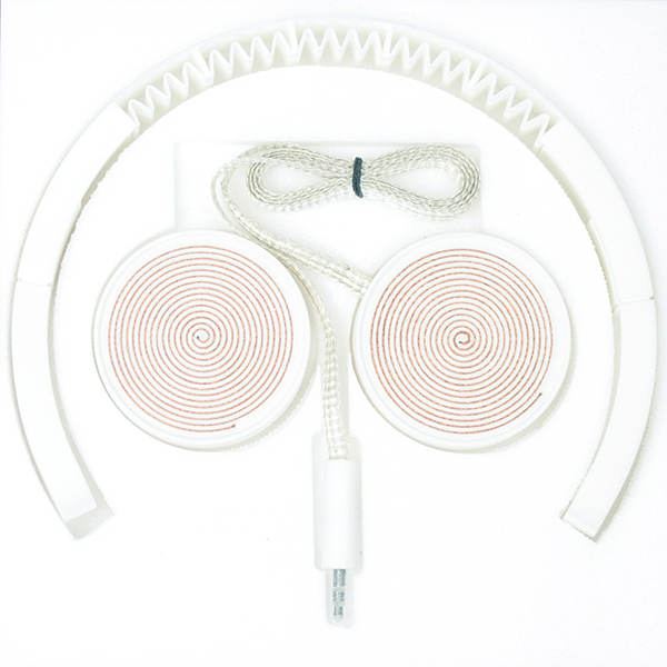 low fi high tech 3d printed headphones by jc karich