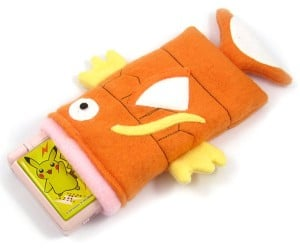 Magikarp Swallows Nintendo DS, Sony PSP