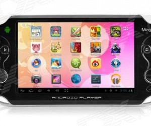 Megafeis G600 Android Handheld Crushes the Specs of the Sony PSP it Knocked off