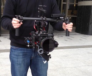 MōVI Stabilized Camera Gimbal Might Shake Up Cinematography