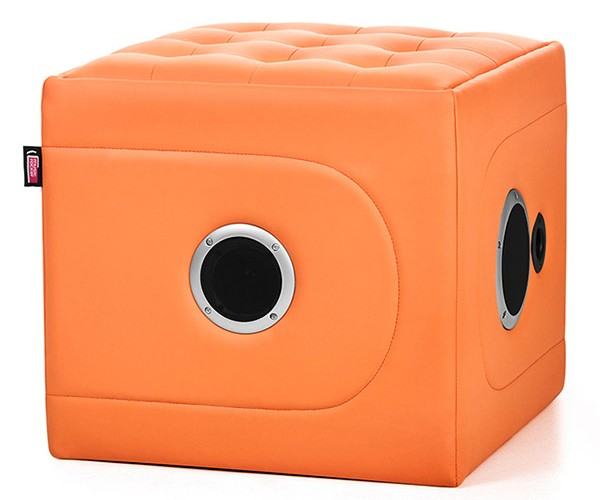 MusicRocker Cube Speaker Chair: Literal Rump-Shaker