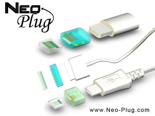 Neo-Plug Magnetic Mobile Device Charger & Data Cables: MagSafe All the Things!