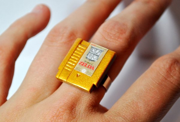 nintendo nes cartridge ring by jess firsoff
