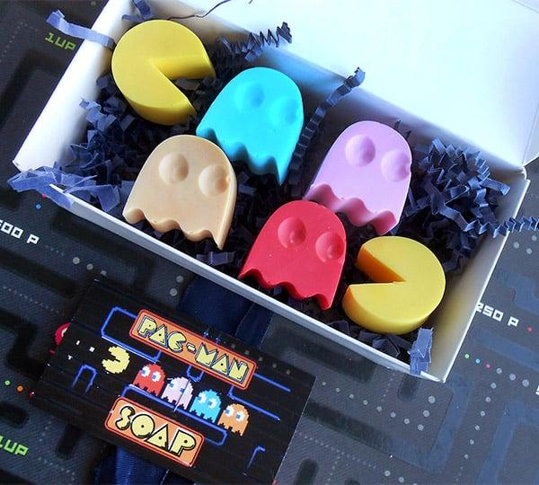 Pac-Man Soaps: Washa, Washa, Washa - Technabob