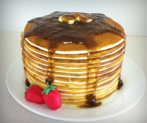 Pancake Cake: It's What's for Breakfast