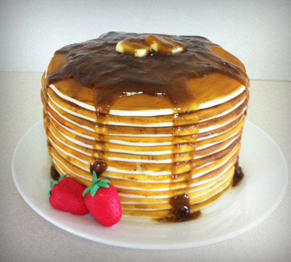 Pancake Cake Its Whats for Breakfast Technabob