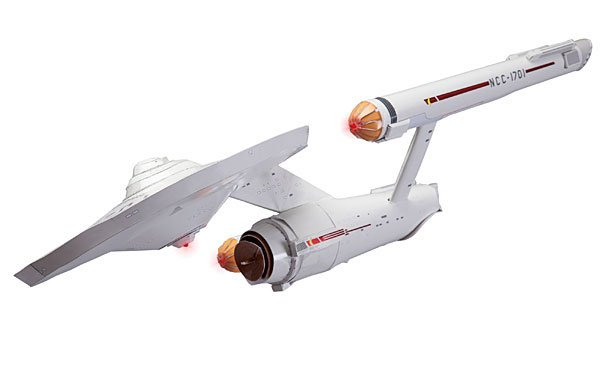 DIY Paper USS Enterprise Boldly Folds Were No Man Has Folded Before
