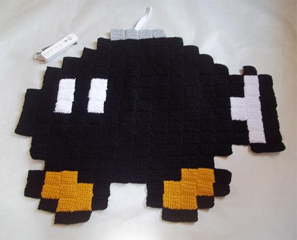 Pixel Rug Bob Omb Technabob